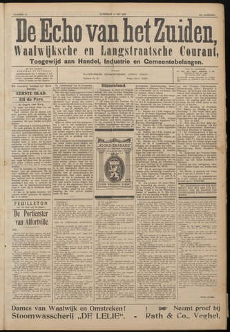 Echo van het Zuiden 1922-05-13