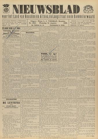 Nieuwsblad het land van Heusden en Altena de Langstraat en de Bommelerwaard 1929-08-14