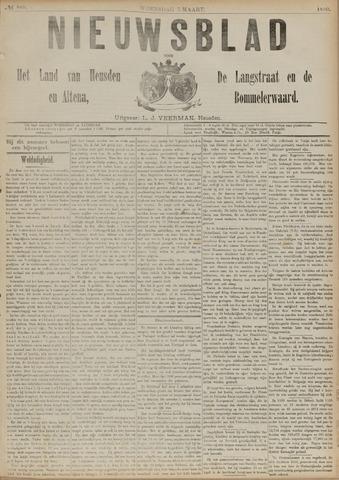 Nieuwsblad het land van Heusden en Altena de Langstraat en de Bommelerwaard 1890-03-05