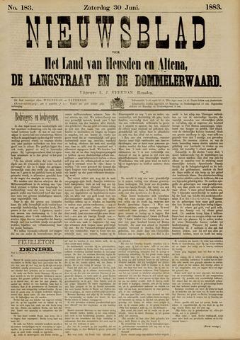 Nieuwsblad het land van Heusden en Altena de Langstraat en de Bommelerwaard 1883-06-30