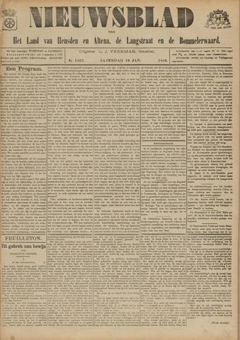 Nieuwsblad het land van Heusden en Altena de Langstraat en de Bommelerwaard 1896-01-18