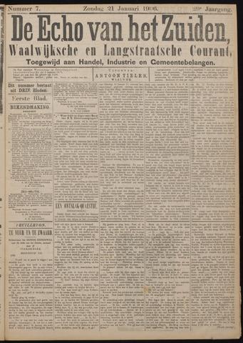 Echo van het Zuiden 1906-01-21