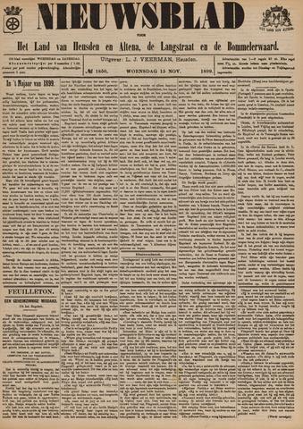 Nieuwsblad het land van Heusden en Altena de Langstraat en de Bommelerwaard 1899-11-15