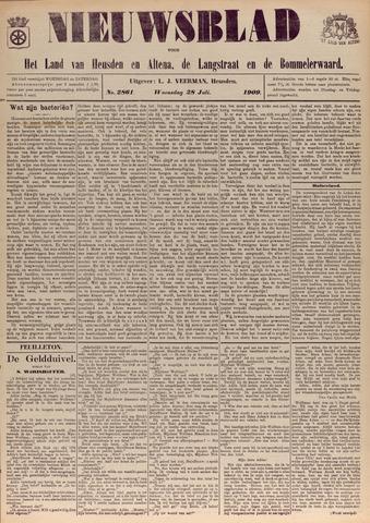 Nieuwsblad het land van Heusden en Altena de Langstraat en de Bommelerwaard 1909-07-28