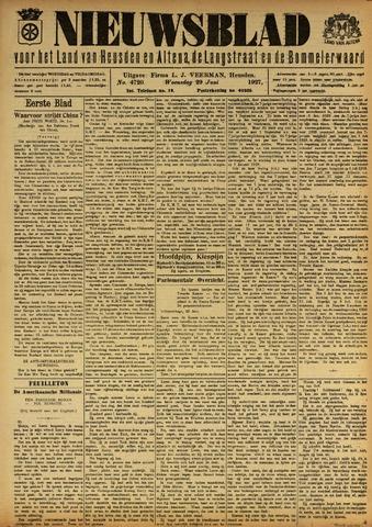 Nieuwsblad het land van Heusden en Altena de Langstraat en de Bommelerwaard 1927-06-29