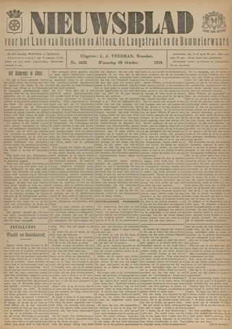 Nieuwsblad het land van Heusden en Altena de Langstraat en de Bommelerwaard 1919-10-29