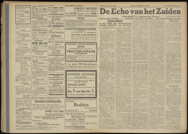 Echo van het Zuiden 1946-07-26