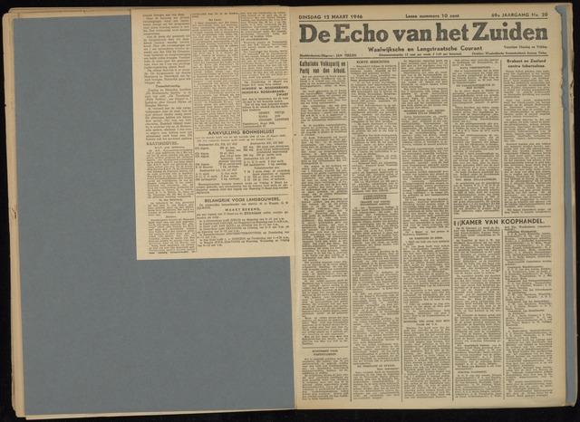 Echo van het Zuiden 1946-03-12