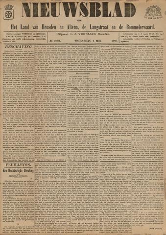 Nieuwsblad het land van Heusden en Altena de Langstraat en de Bommelerwaard 1901-05-01