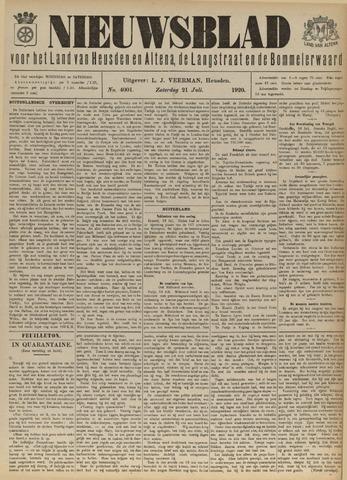 Nieuwsblad het land van Heusden en Altena de Langstraat en de Bommelerwaard 1920-07-21