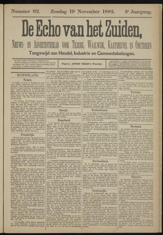 Echo van het Zuiden 1882-11-19
