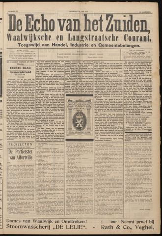 Echo van het Zuiden 1922-06-10
