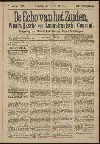 Echo van het Zuiden 1899-07-23