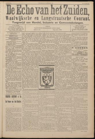 Echo van het Zuiden 1926-11-10