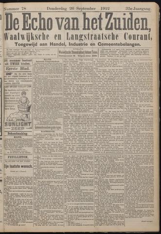 Echo van het Zuiden 1912-09-26