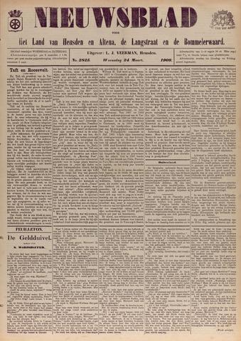 Nieuwsblad het land van Heusden en Altena de Langstraat en de Bommelerwaard 1909-03-24