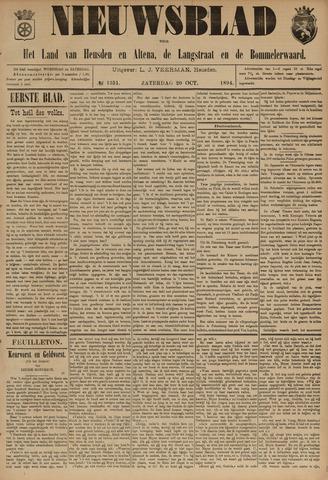Nieuwsblad het land van Heusden en Altena de Langstraat en de Bommelerwaard 1894-10-20