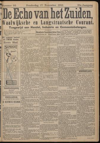 Echo van het Zuiden 1913-11-27