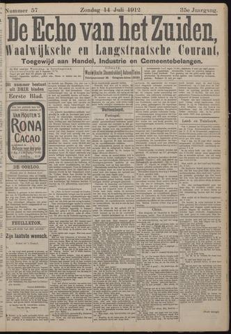 Echo van het Zuiden 1912-07-14