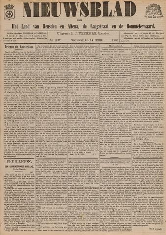 Nieuwsblad het land van Heusden en Altena de Langstraat en de Bommelerwaard 1900-02-14
