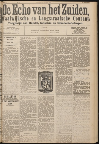 Echo van het Zuiden 1934-10-10