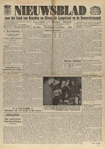 Nieuwsblad het land van Heusden en Altena de Langstraat en de Bommelerwaard 1941-11-19