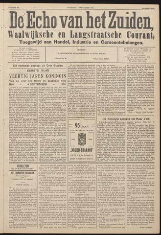 Echo van het Zuiden 1938-09-03