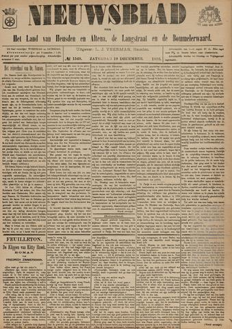 Nieuwsblad het land van Heusden en Altena de Langstraat en de Bommelerwaard 1896-12-19