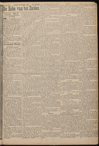 Echo van het Zuiden 1908-12-25
