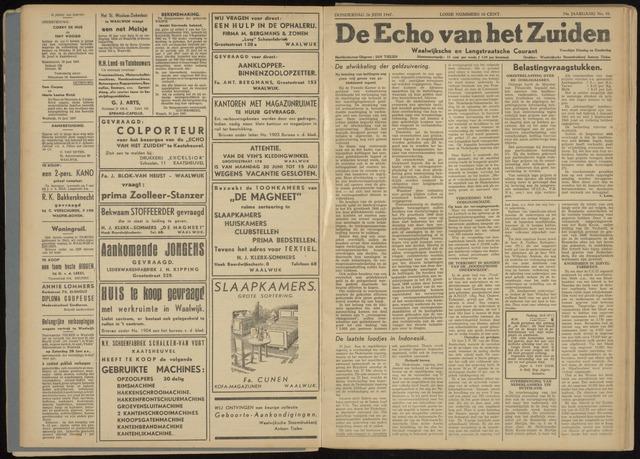 Echo van het Zuiden 1947-06-26
