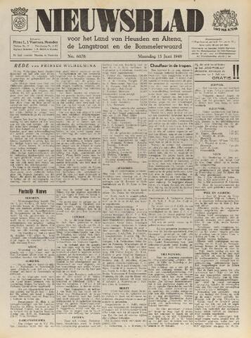 Nieuwsblad het land van Heusden en Altena de Langstraat en de Bommelerwaard 1949-06-13