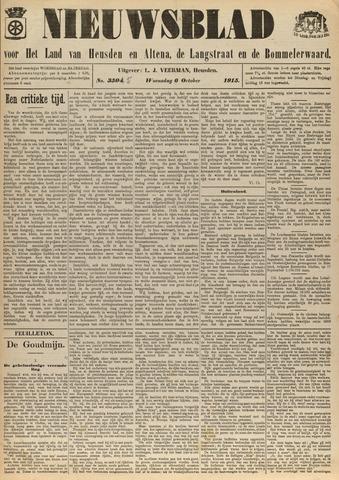 Nieuwsblad het land van Heusden en Altena de Langstraat en de Bommelerwaard 1915-10-06