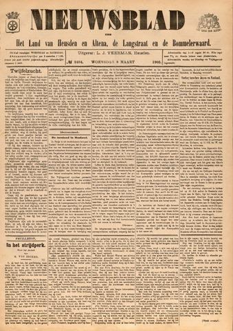 Nieuwsblad het land van Heusden en Altena de Langstraat en de Bommelerwaard 1905-03-08