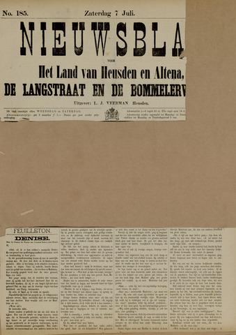 Nieuwsblad het land van Heusden en Altena de Langstraat en de Bommelerwaard 1883-07-07