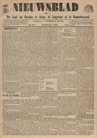 Nieuwsblad het land van Heusden en Altena de Langstraat en de Bommelerwaard 1903-05-06
