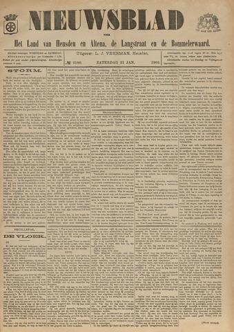 Nieuwsblad het land van Heusden en Altena de Langstraat en de Bommelerwaard 1903-01-31