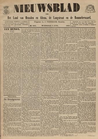 Nieuwsblad het land van Heusden en Altena de Langstraat en de Bommelerwaard 1903-06-03