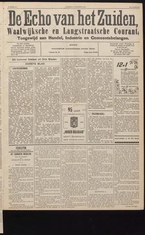 Echo van het Zuiden 1938-08-06