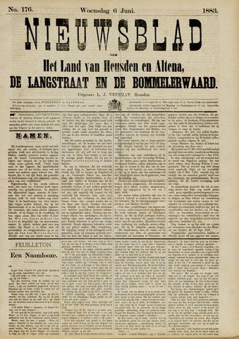 Nieuwsblad het land van Heusden en Altena de Langstraat en de Bommelerwaard 1883-06-06