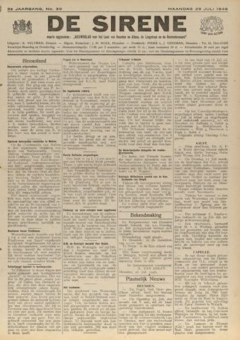 De Sirene 1946-07-29
