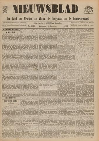 Nieuwsblad het land van Heusden en Altena de Langstraat en de Bommelerwaard 1906-08-18
