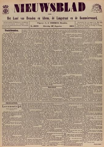 Nieuwsblad het land van Heusden en Altena de Langstraat en de Bommelerwaard 1911-08-26