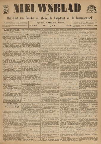 Nieuwsblad het land van Heusden en Altena de Langstraat en de Bommelerwaard 1905-12-06