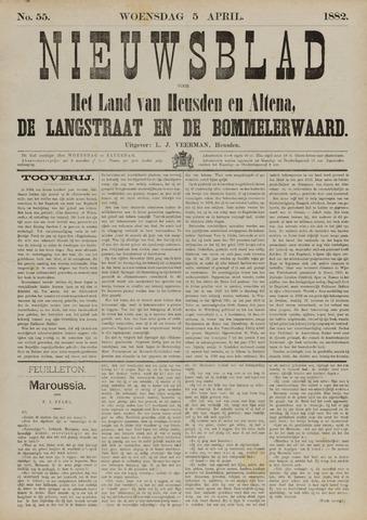 Nieuwsblad het land van Heusden en Altena de Langstraat en de Bommelerwaard 1882-04-05