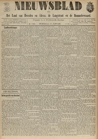 Nieuwsblad het land van Heusden en Altena de Langstraat en de Bommelerwaard 1893-01-11