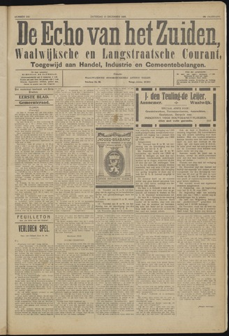 Echo van het Zuiden 1923-12-15