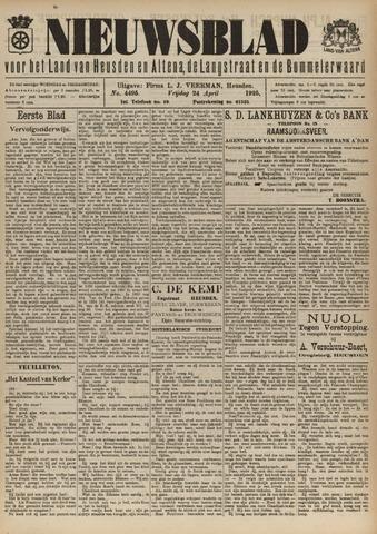 Nieuwsblad het land van Heusden en Altena de Langstraat en de Bommelerwaard 1925-04-24