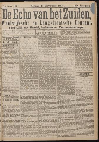 Echo van het Zuiden 1907-11-24