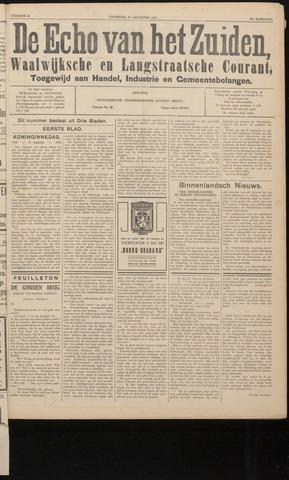 Echo van het Zuiden 1936-08-29