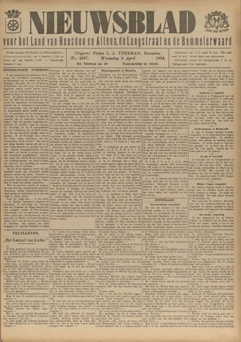 Nieuwsblad het land van Heusden en Altena de Langstraat en de Bommelerwaard 1924-04-09